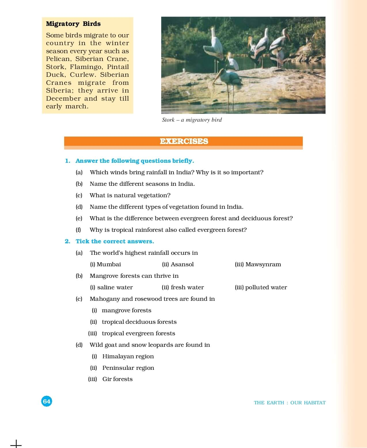 Geography ( Geography : The Earth Our Habitat ) - CBSE ...