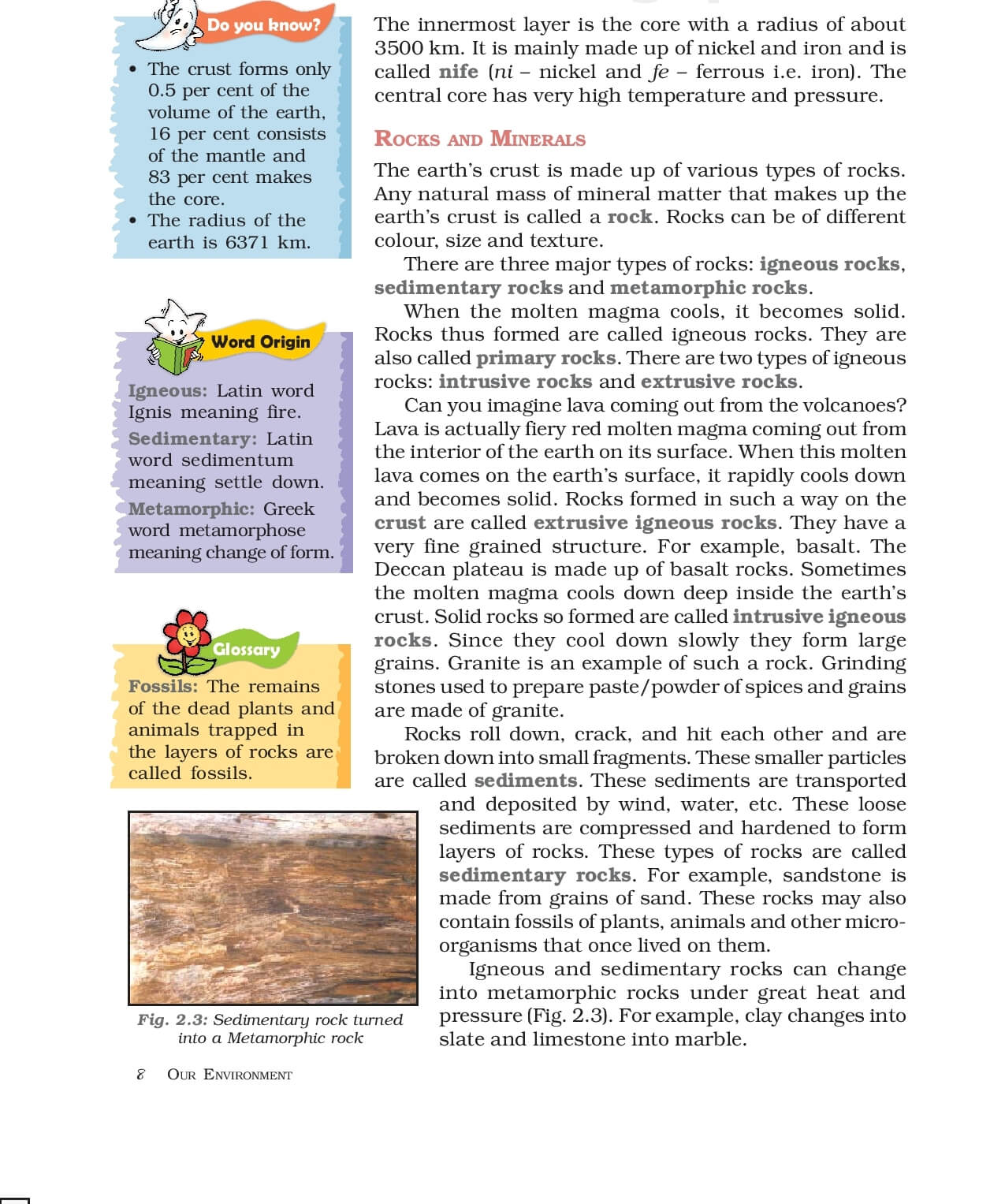 Geography ( Geography : Our Environment ) - CBSE Class 7 ...