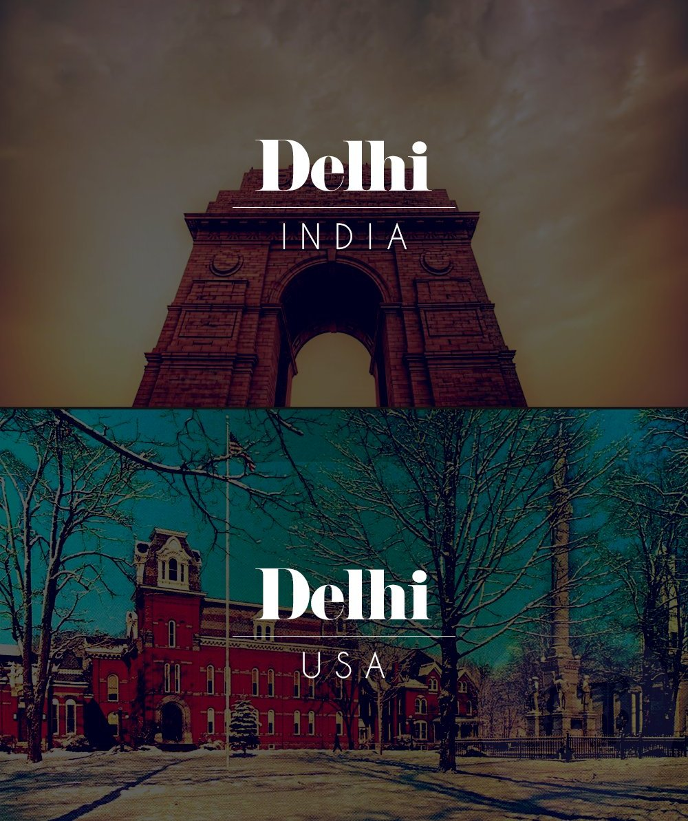 14 Places Around The World Share Names With Indian Cities